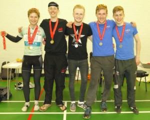 Overall Prize: Gold - Cambridge A, Silver - Loughborough A, Bronze - Derby (Absent)